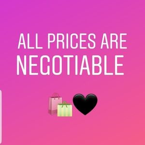 Offers are gladly welcome 🤝